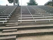 concrete stairs no paint coating