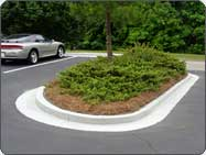 gray curb paint