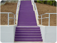 Concrete Stain for Bleachers / Steps to Protect and Beautify.