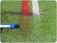athletic field chalk lines