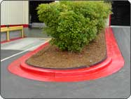 red fire lane curb paint