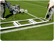 Aluminum Hash Mark Stencil for Football Fields