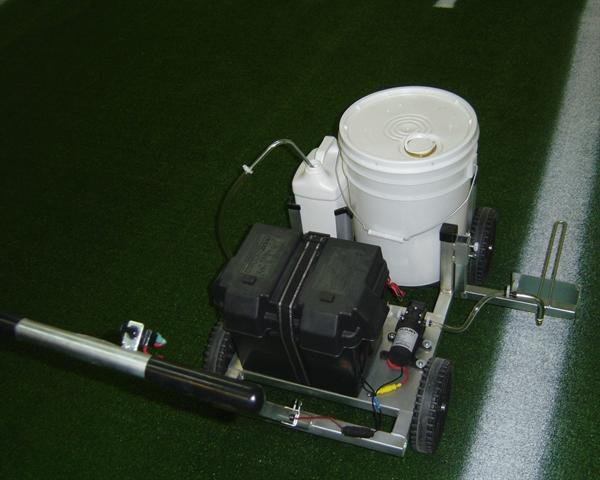 field marking athletic line painting spray machine electric battery operated machines