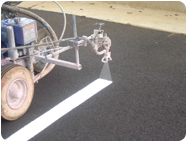 Airless Striping Machines for Bulk Traffic Line Marking-Striping Paints from Graco, Titan.