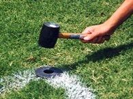 Socket Markers for Athletic Fields
